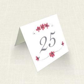 Καρτελάκι Τραπεζιού MyMastoras®- Circles Flowers