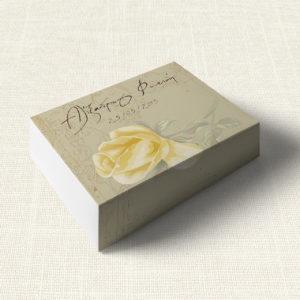 Κουτάκι Γάμου MyMastoras®- Yellow Roses