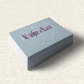 Κουτάκι Γάμου MyMastoras®- Heart Name