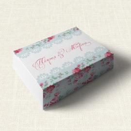 Κουτάκι Γάμου MyMastoras®- Roses Patern
