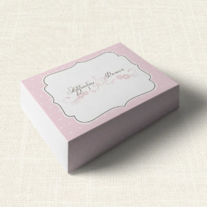 Κουτάκι Γάμου MyMastoras®- Polka Dots Letter