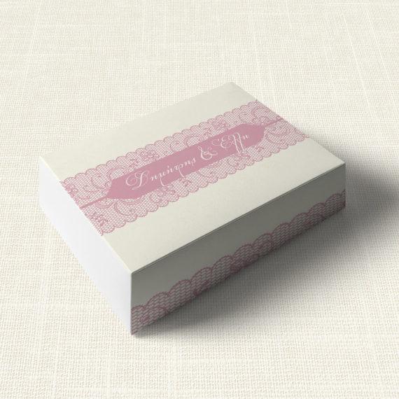 Κουτάκι Γάμου MyMastoras®- Old Pink