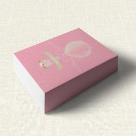 Κουτάκι Βάπτισης MyMastoras®- Pink Aerostat