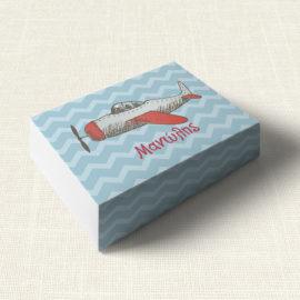 Κουτάκι Βάπτισης MyMastoras®- Airplane