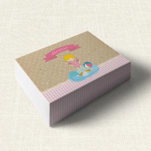 Κουτάκι Βάπτισης MyMastoras®- Girl Bath