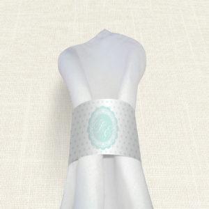 Δαχτυλίδι Πετσέτας Γάμου MyMastoras® - Ment Polk