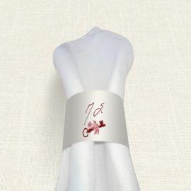 Δαχτυλίδι Πετσέτας Γάμου MyMastoras® - Key Life