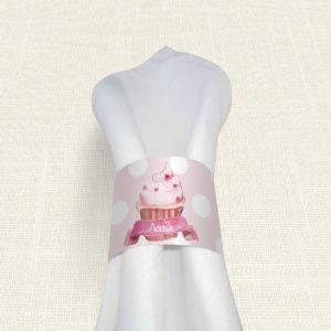 Δαχτυλίδι Πετσέτας Βάπτισης MyMastoras® – Sweet girl