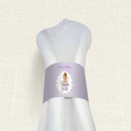 Δαχτυλίδι Πετσέτας Βάπτισης MyMastoras® – Sara Bath