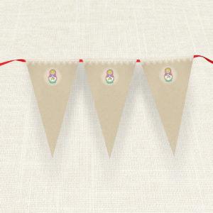 Σημαιάκια MyMastoras®- Babushka