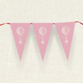 Σημαιάκια MyMastoras®- Pink Aerostat