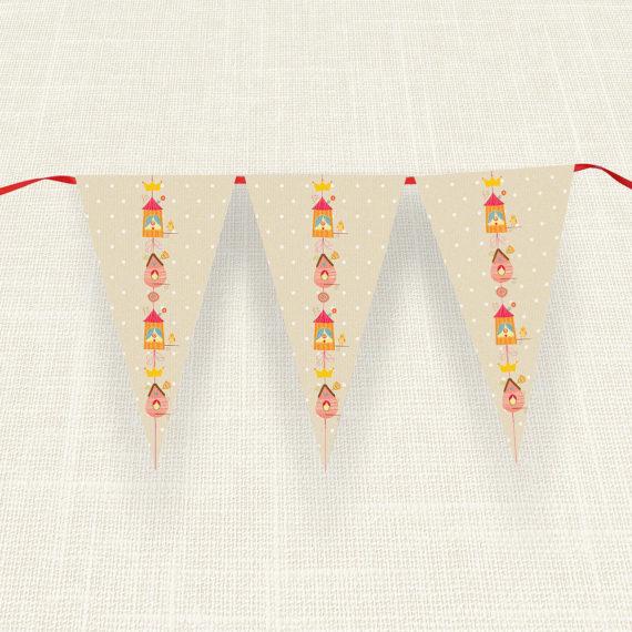 Σημαιάκια MyMastoras®- Bird House