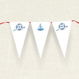 Σημαιάκια MyMastoras®- Ribbon Boat
