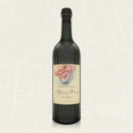 Ετικέτα Κρασιού MyMastoras®- Roses