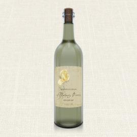 Ετικέτα Κρασιού MyMastoras®- Yellow Roses