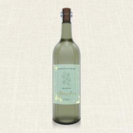 Ετικέτα Κρασιού MyMastoras®- Watercolor Sky Gold