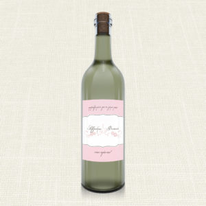 Ετικέτα Κρασιού MyMastoras®- Polka Dots Letter