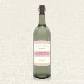 Ετικέτα Κρασιού MyMastoras®- Old Pink