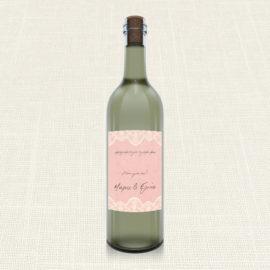 Ετικέτα Κρασιού MyMastoras®- Lace