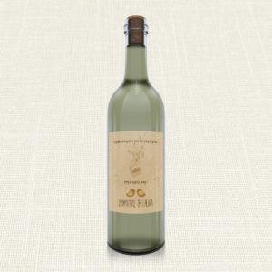 Ετικέτα Κρασιού MyMastoras®- Calendar Birds