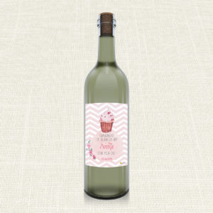 Ετικέτα Κρασιού MyMastoras®- Sweet girl