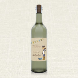 Ετικέτα Κρασιού MyMastoras®- Sailor Boy