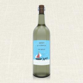 Ετικέτα Κρασιού MyMastoras®- Yachting