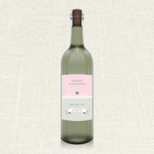 Ετικέτα Κρασιού MyMastoras®- Ribbon