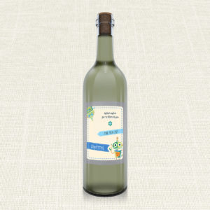 Ετικέτα Κρασιού MyMastoras®- Robot