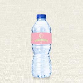 Ετικέτα Νερού MyMastoras®- Pink Aerostat