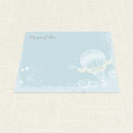 Σουπλά Γάμου MyMastoras®- Carte Postale Balloon