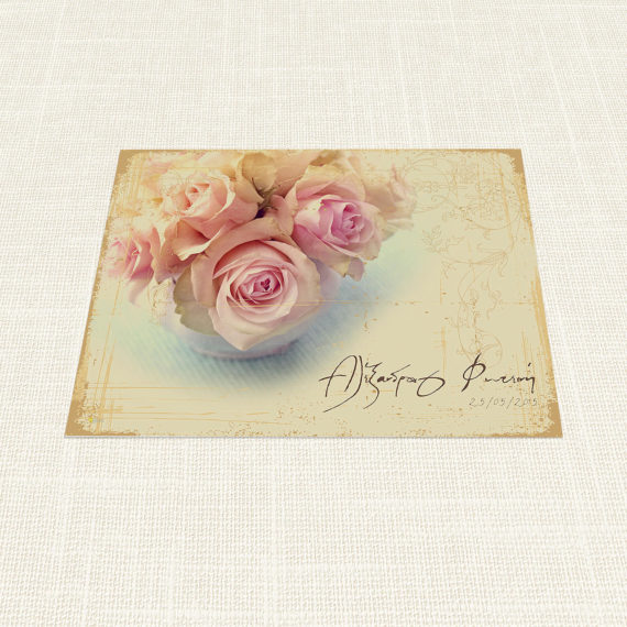 Σουπλά Γάμου MyMastoras®- Roses