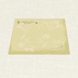 Σουπλά Γάμου MyMastoras®- Olive