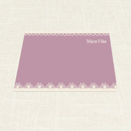 Σουπλά Γάμου MyMastoras®- Lace edge