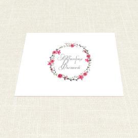 Σουπλά Γάμου MyMastoras®- Circles Flowers