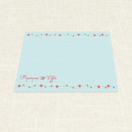 Σουπλά Γάμου MyMastoras®- Dots Flowers