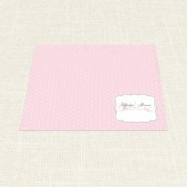 Σουπλά Γάμου MyMastoras®- Polka Dots Letter