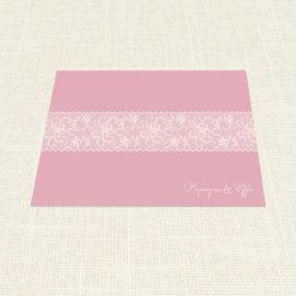 Σουπλά Γάμου MyMastoras®- Old Pink
