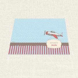Σουπλά Βάπτισης MyMastoras®- Airplane