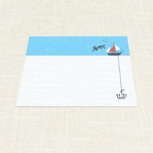 Σουπλά Βάπτισης MyMastoras®- Yachting