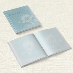 Βιβλίο Ευχών Γάμου MyMastoras® - Carte Postale Balloon