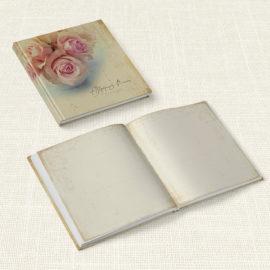 Βιβλίο Ευχών Γάμου MyMastoras® - Roses