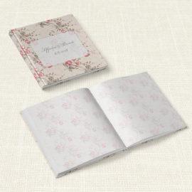 Βιβλίο Ευχών Γάμου MyMastoras® - Roses Border