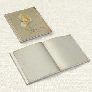 Βιβλίο Ευχών Γάμου MyMastoras® - Yellow Roses