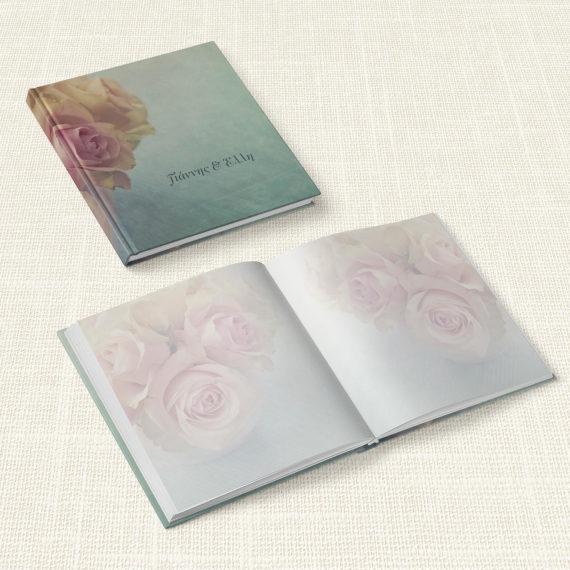 Βιβλίο Ευχών Γάμου MyMastoras® - Old Roses