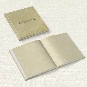 Βιβλίο Ευχών Γάμου MyMastoras® - Olive