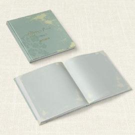 Βιβλίο Ευχών Γάμου MyMastoras® - Watercolor Sky Gold