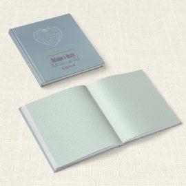 Βιβλίο Ευχών Γάμου MyMastoras® - Heart Name