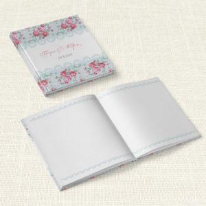 Βιβλίο Ευχών Γάμου MyMastoras® - Roses Patern
