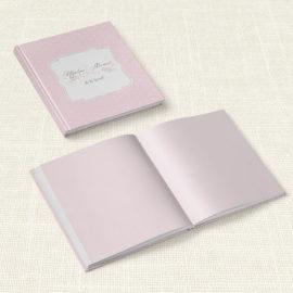 Βιβλίο Ευχών Γάμου MyMastoras® - Polka Dots Letter